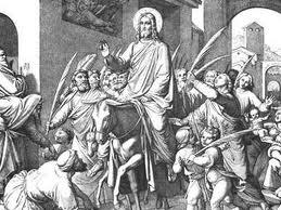 Intocht van Christus in Jeruzalem