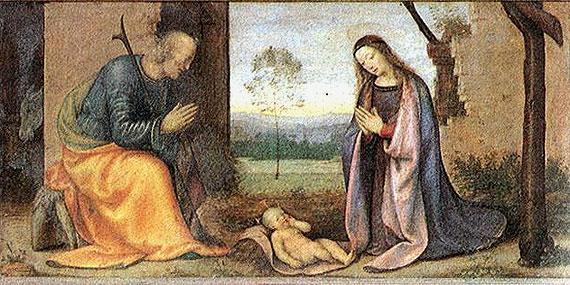 Geboorte Kindje Jezus