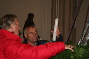 Cor Schouten en Henny Haarman