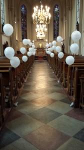 Versierde kerk
