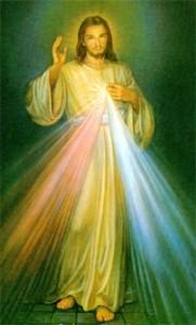Jezus als Goddelijke Barmhartigheid