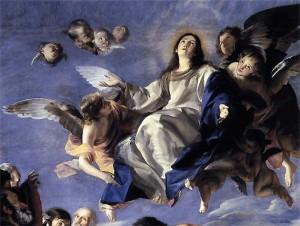 De Tenhemelopneming van Maria, Juan Martin Cabezalero, 1665-70