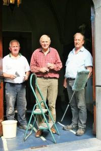 v.l.n.r. Theo, Jan en Cor