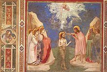 Doop van de Heer door Giotto di Bondone