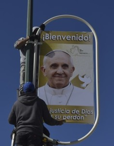 Paus Franciscus bezoekt Mexico 12-17 februari 2016