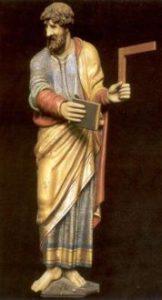 Thomas Apostel, ook Didymus of Ongelovige Thomas Volgens de evangelies behoorde hij tot 'de twaalf', de kring van Jezus' meest intieme leerlingen, die Hijzelf de naam 'apostel' (= 'zendeling' of 'gezondene') gaf. Volgens de overlevering trok hij na Pinksteren naar Oost-Azië en preekte het evangelie onder Parthen, Meden en Perzen en zou hij zelfs tot in India gekomen zijn. Hier stierf hij als martelaar.