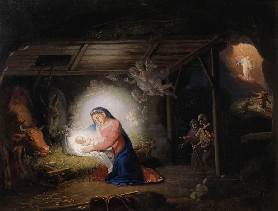 De geboorte van de Verlosser